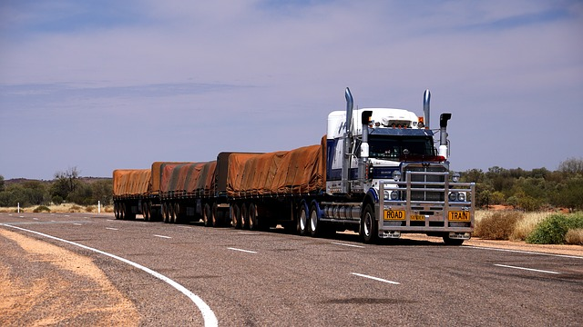 Road Train Flat Bed