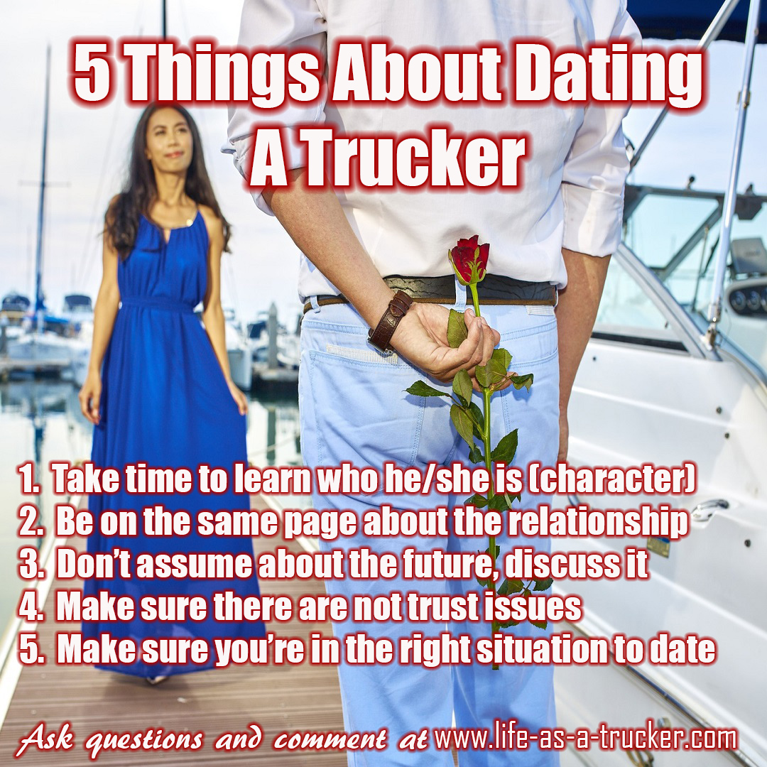 should you date a truck driver