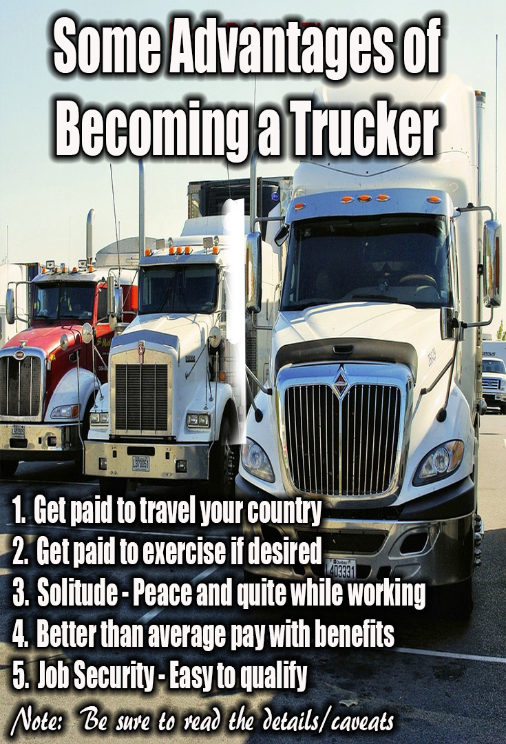 Advantages of Trucking Jobs