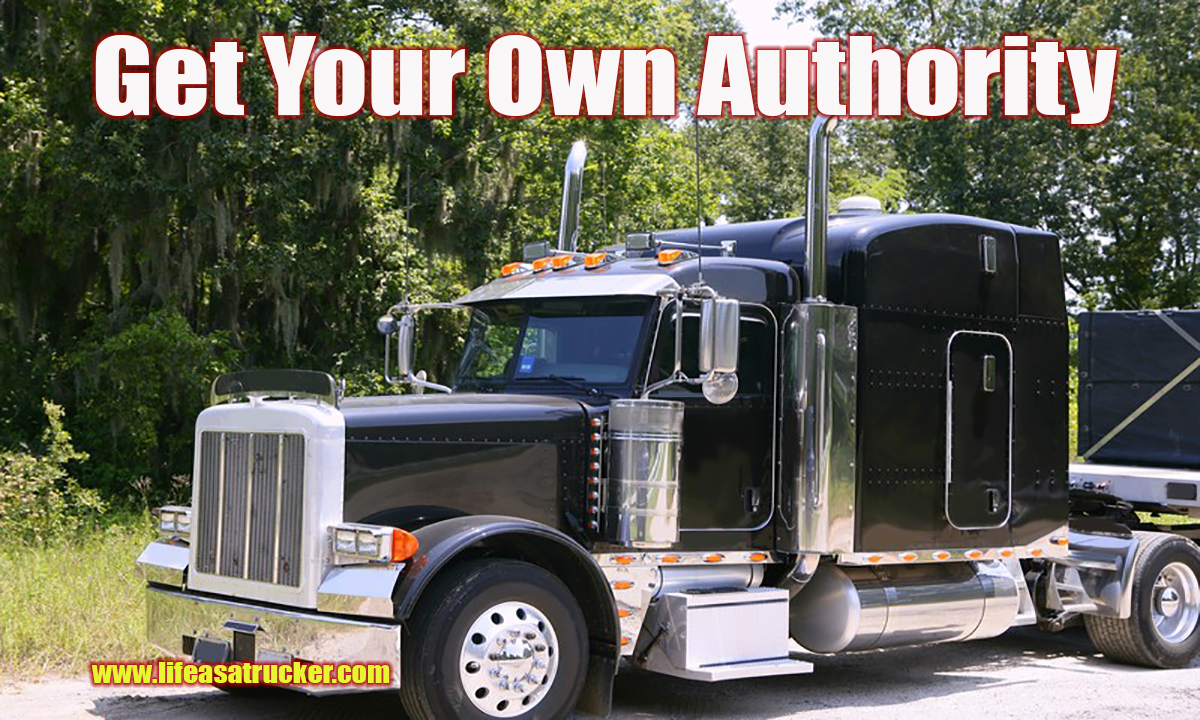 Get Your Own Authority