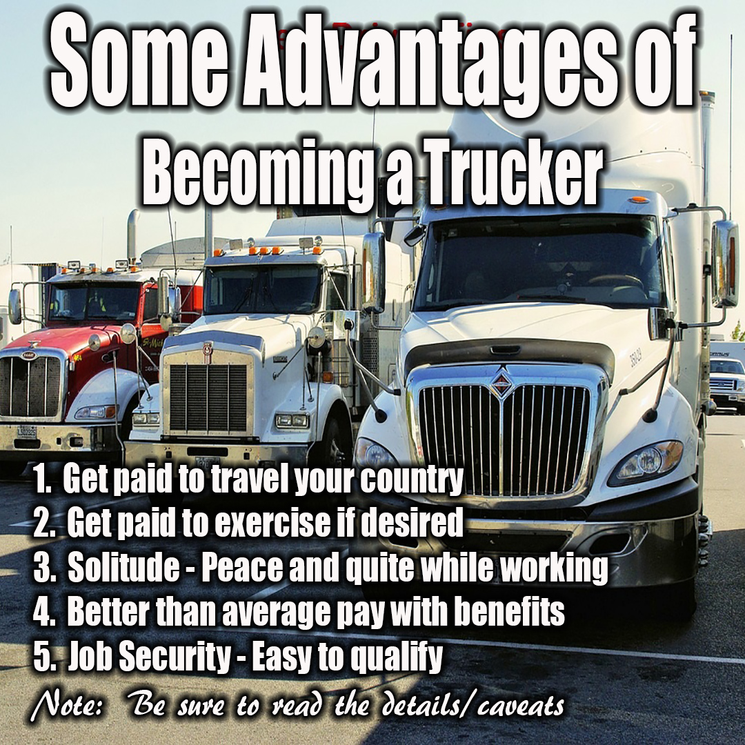 Advantages of trucking