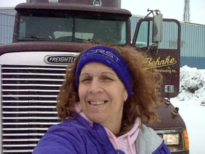 Me with truck