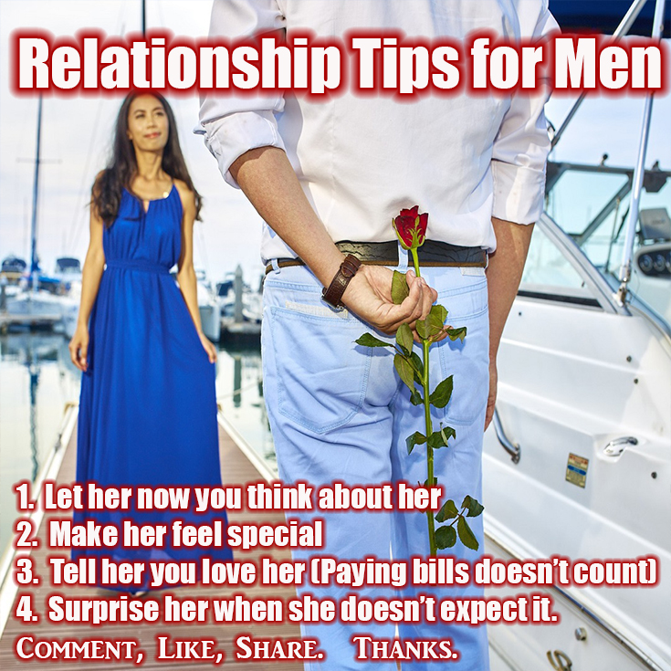 Becoming a better man in the relationship
