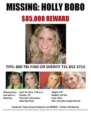 Holly Bobo Missing