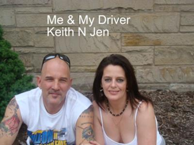 Me and My Driver ;) (taken this summer while he was laid off- we went to Kennywood here in Pa)