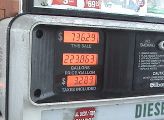 high diesel prices