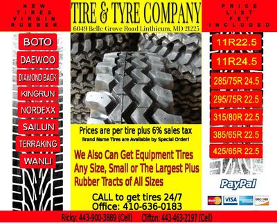 Great prices for tires