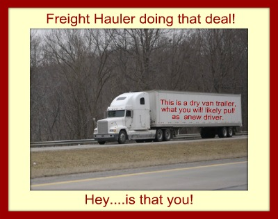 entry level trucking job