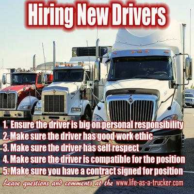 Hiring Good Drivers Can Be Challenging