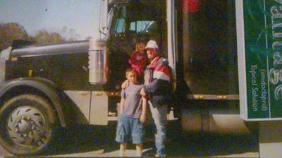 me and  two of my children about 10 years ago