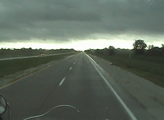 Dark skies overhead doesnt might there isnt sunshine in the picture