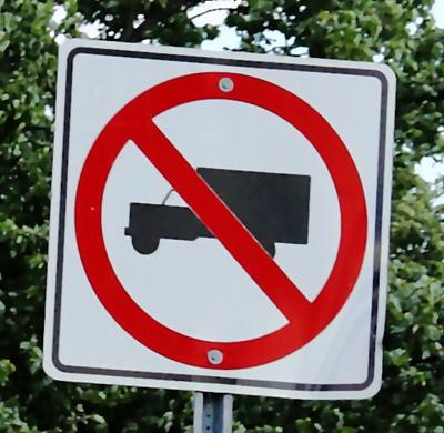 No Trucks Allowed
