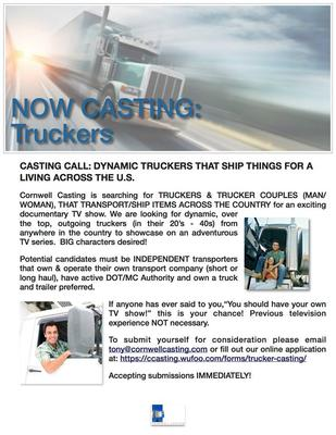 Casting Call for Owner Operator Flyer