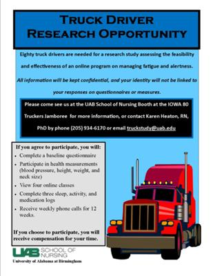 Trucker Research Study