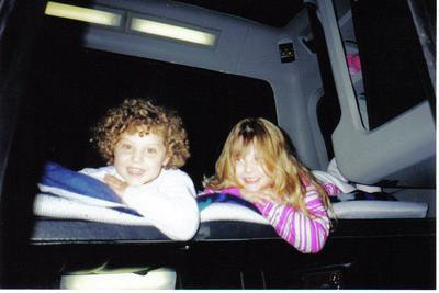 Our girls in their trucking years.