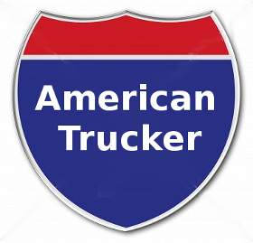 Sign of An American Trucker