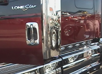 chromed out lonestar big show truck