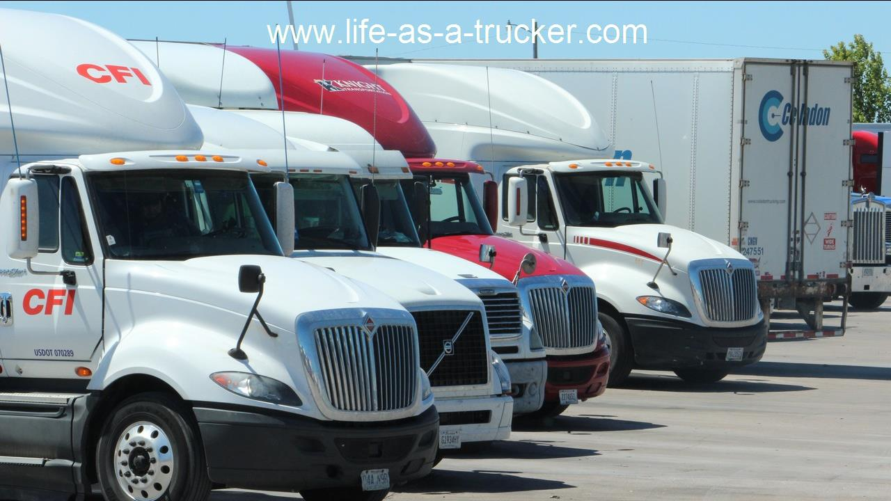 Company trucking jobs can vary greatly from company to company.  They all have some common benefits though like job security and relatively low cost of entry.  *