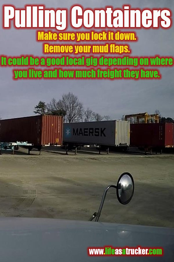 Pulling Containers from railyard