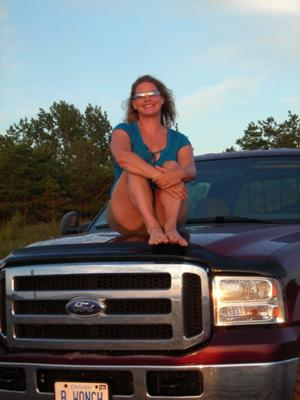 Me and my 'ride' .  Summer of '08.