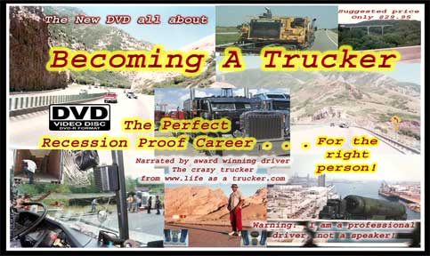 Becoming a trucker DVD