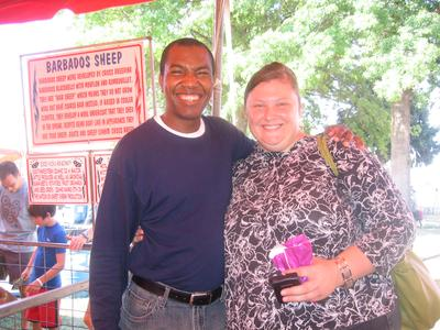 Us at the State Fair 2012