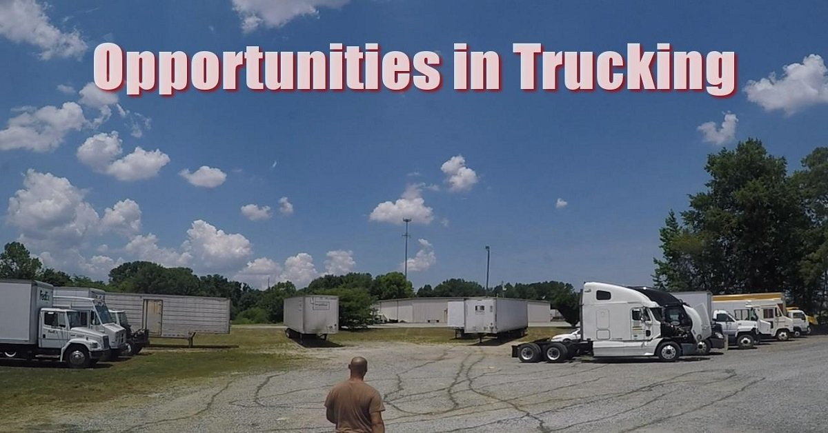 Trucking life offers many opportunities