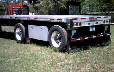 Fontaine Spread Axle Flat Bed Trailer