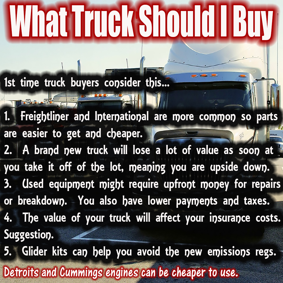 Tips on which type of truck to buy